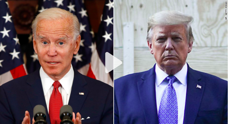 CNN: Biden leads in three key states Trump won in 2016