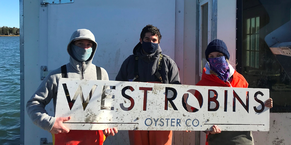 PeconicLandTrust Blog: Getting to Know West Robins Oyster Co.