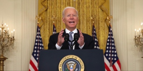 From the Desk of Michael Iasilli: With Biden's Afghanistan Withdrawal, Democrats Can Win.